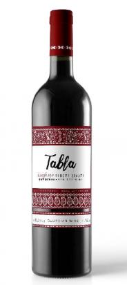 Wino gruzińskie Tabla Saperavi czerwone wytrawne