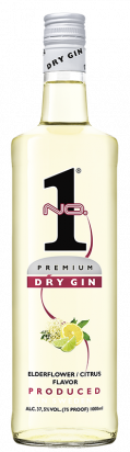 No.1 Dry Gin Elderflower/Citrus   1l