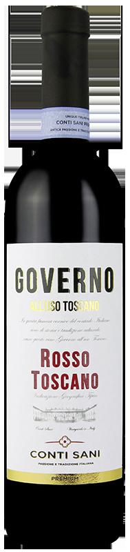 Wino Toscana Governo Rosso