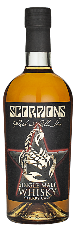 Scorpions Rock n Roll Star Cherry Cask
