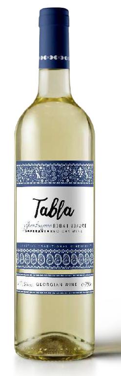 Wino gruzińskie Tabla Evropuli białe wytrawne