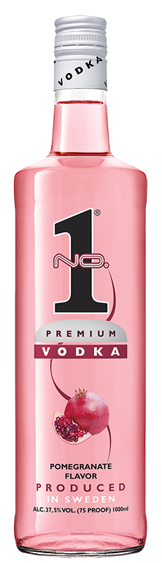 No.1 Premium Vodka Pomegranate 1l