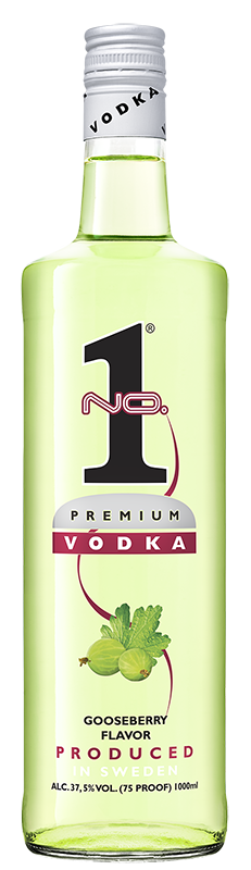 No.1 Premium Vodka Goosberry 1l