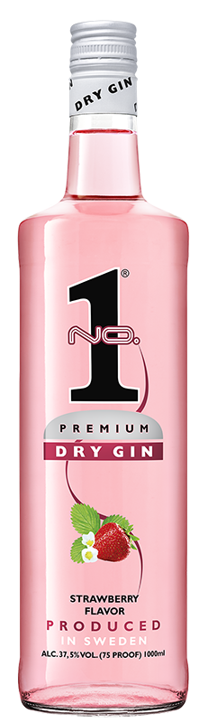 No.1 Dry Gin Strawberry   1l