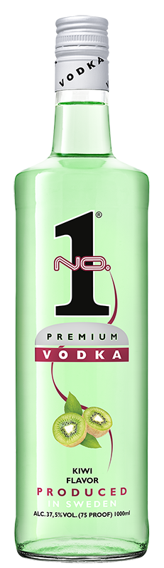 No.1 Premium Vodka Kiwi 1l