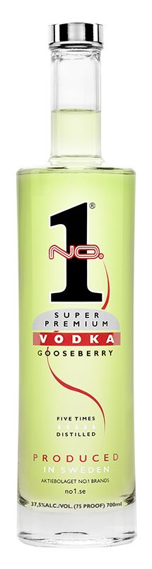 Super Premium Vodka Goosberry 0,7l