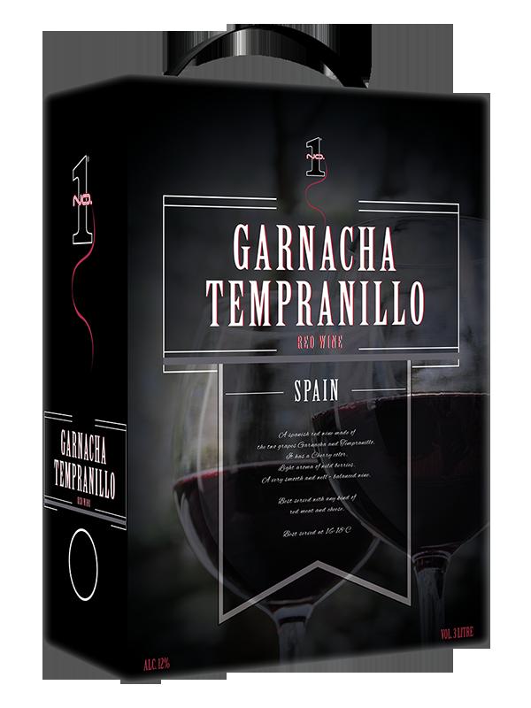 Wino No.1 Red Wine from Spain Garnacha/Tempranillo 3l