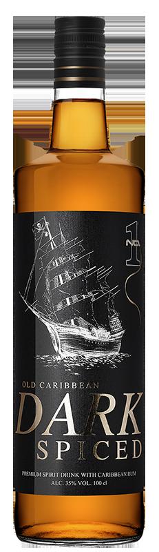 No.1 Old Caribbean Spiced Dark Rum 1l