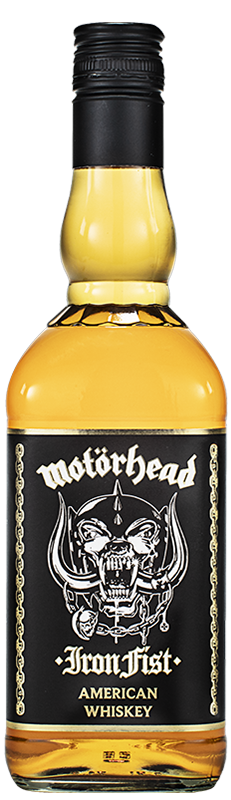 Motorhead Iron Fist American Whiskey