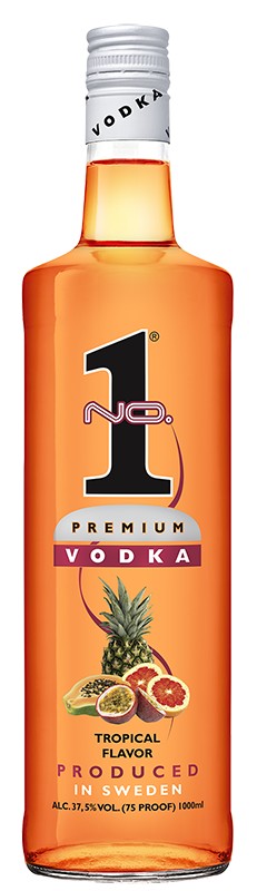No.1 Premium Vodka Tropical 1l