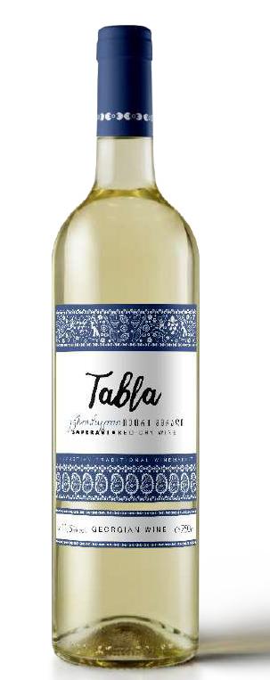Wino gruzińskie Tabla Pirosmani białe półwytrawne