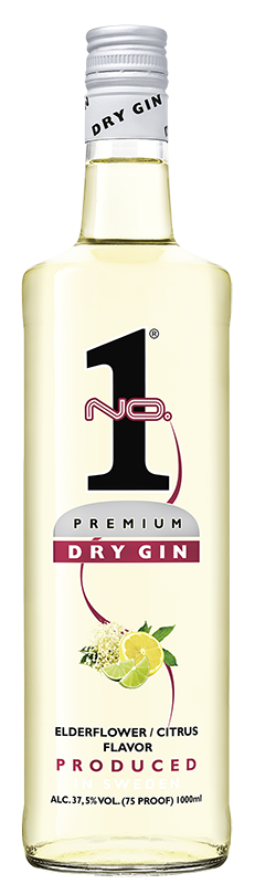 No.1 Dry Gin Elderflower/Citrus   1l