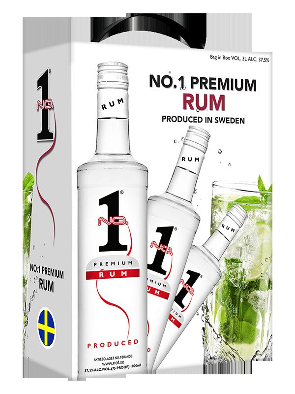 No.1 Premium Rum  3l