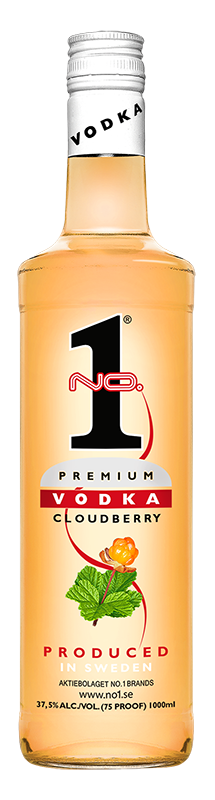 No.1 Vodka Cloudberry  1l